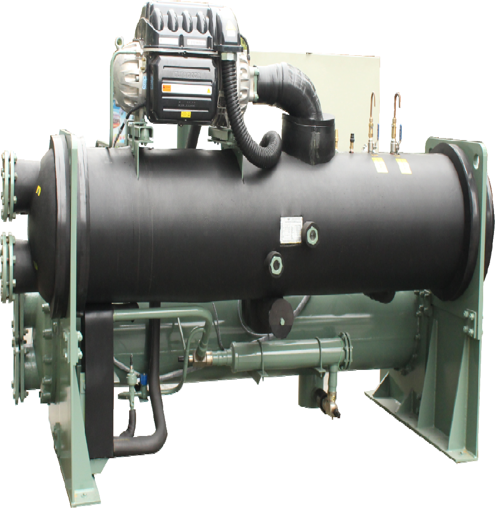 Water-cooled magnetic suspension frequency conversion centrifugal chiller