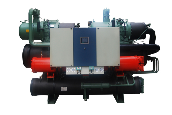 HStars high COP flooded type and screw type chiller with heat recovery