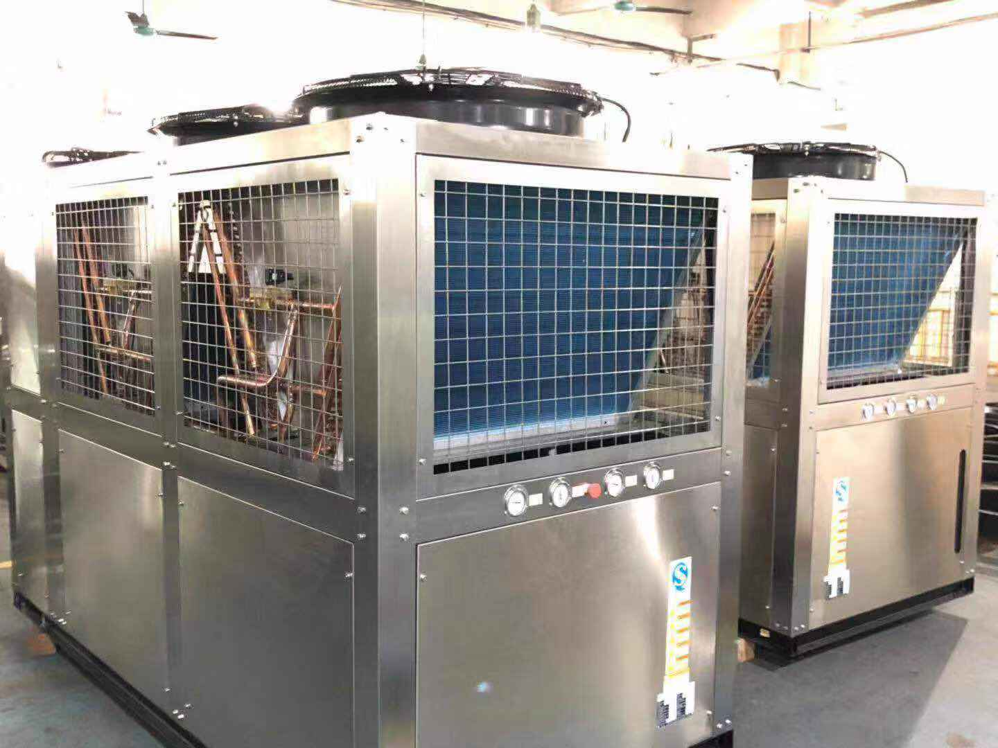 Stainless Steel Air Cooled Chiller Unit