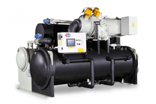 R134a water cooled oil free centrifugal chiller
