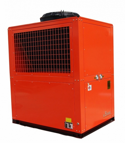 hot water chiller with cold recovery