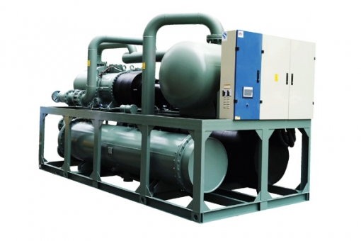 Flooded And Screw Type Water Cooled Chiller