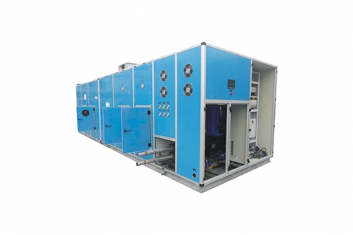 heat recovery air handling unit for factory and hospital