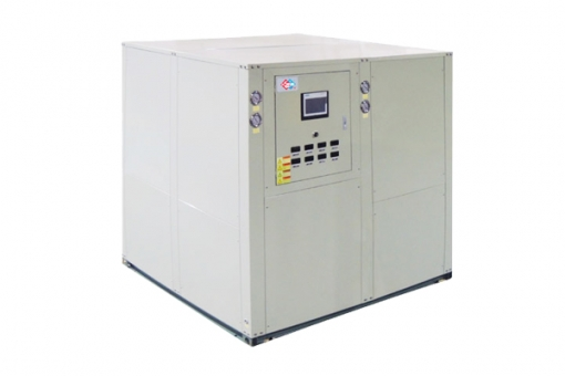 Sewage source heat pump unit