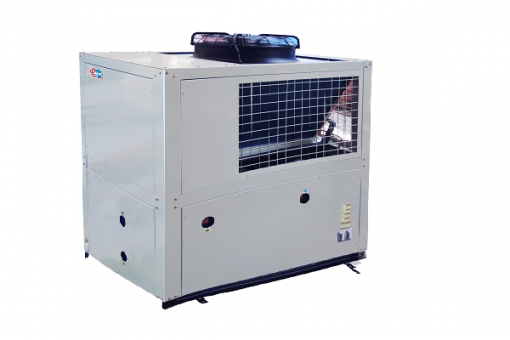 Stainless steel air source heat pump unit