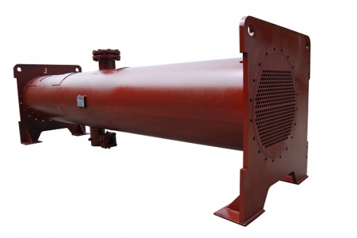 Industrial Shell And Tube Condenser