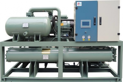 Water Screw Falling Film Water Cooled Spray Type Chiller