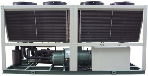 Air-Cooled Screw Chiller 100 Ton Air Cooled Chiller  Manufacturers (with Heat Recovery)