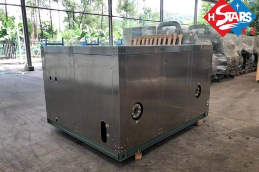 Titanium Heat pump with stainless box
