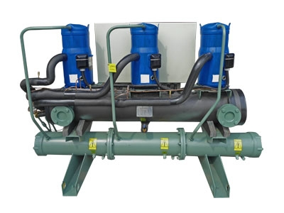 Scroll  water cooled industrial chiller