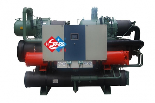 Sewage water source heat pump unit