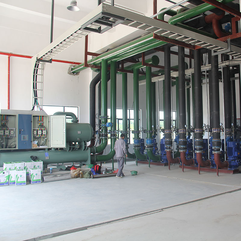Flooded Type Screw Chiller Unit for the Datwyler Group production Line