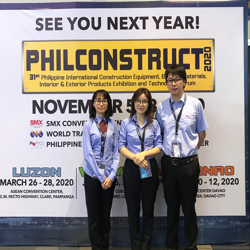 H.Stars Group has attended Philconstruct EXPO