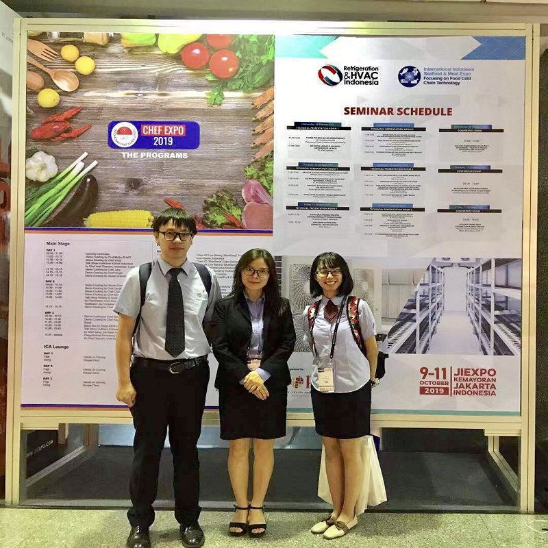 H.Stars Group once again successfully participated in the Indonesia Refrigeration Exhibition